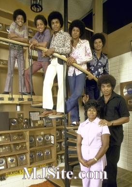 The Jackson 5 with Their Parents