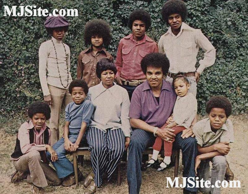 Jackson 5 With Family