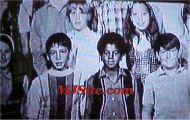 Michael Jackson Class Picture