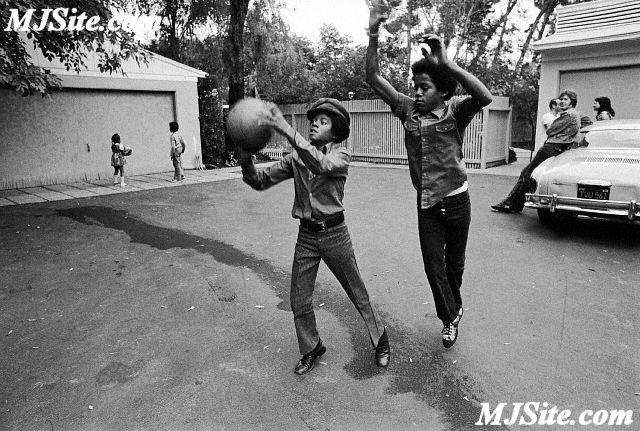 Michael Jackson & Marlon Jackson