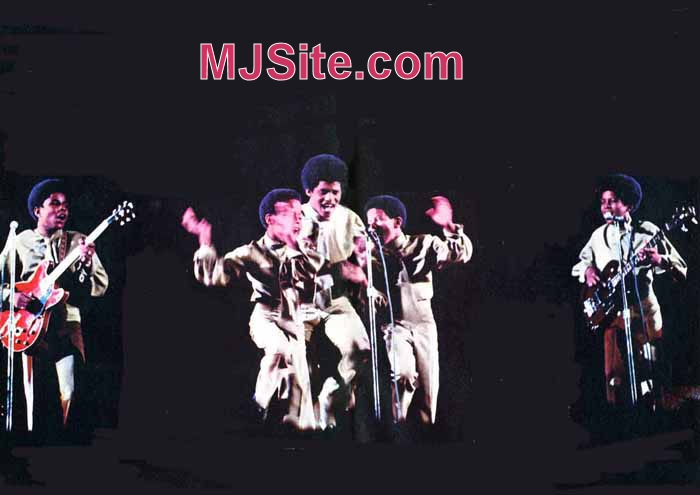 Jackson Five After Signing with Motown